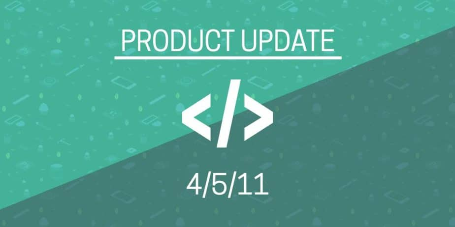 Product Update 4.5.11