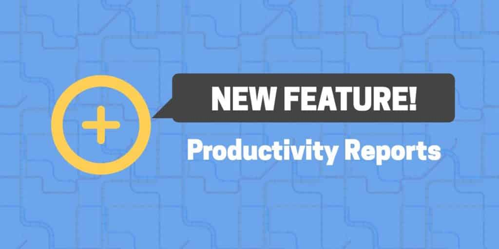 New features - Productivity reports - Cover